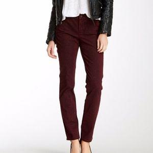 NYDJ Sheri Python Skinny Jeans Size 12